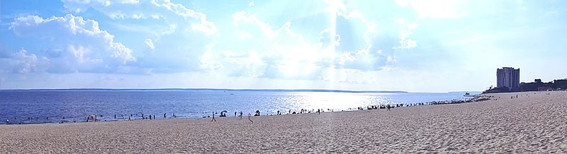 Praia Ponta Negra beach