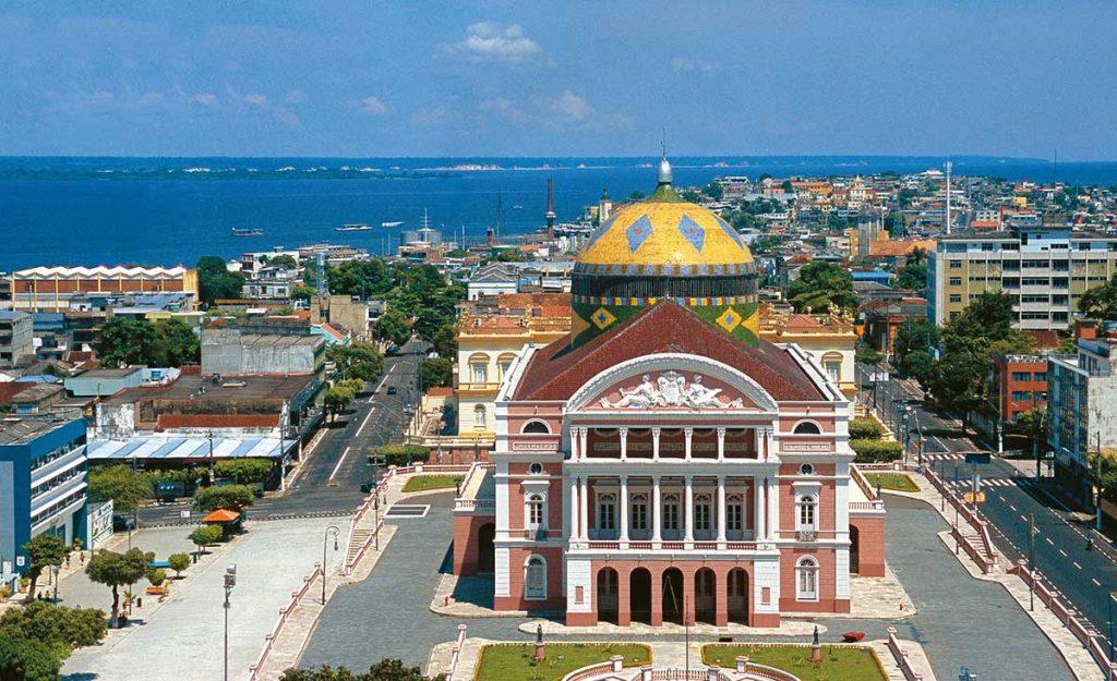Manaus, centar grada